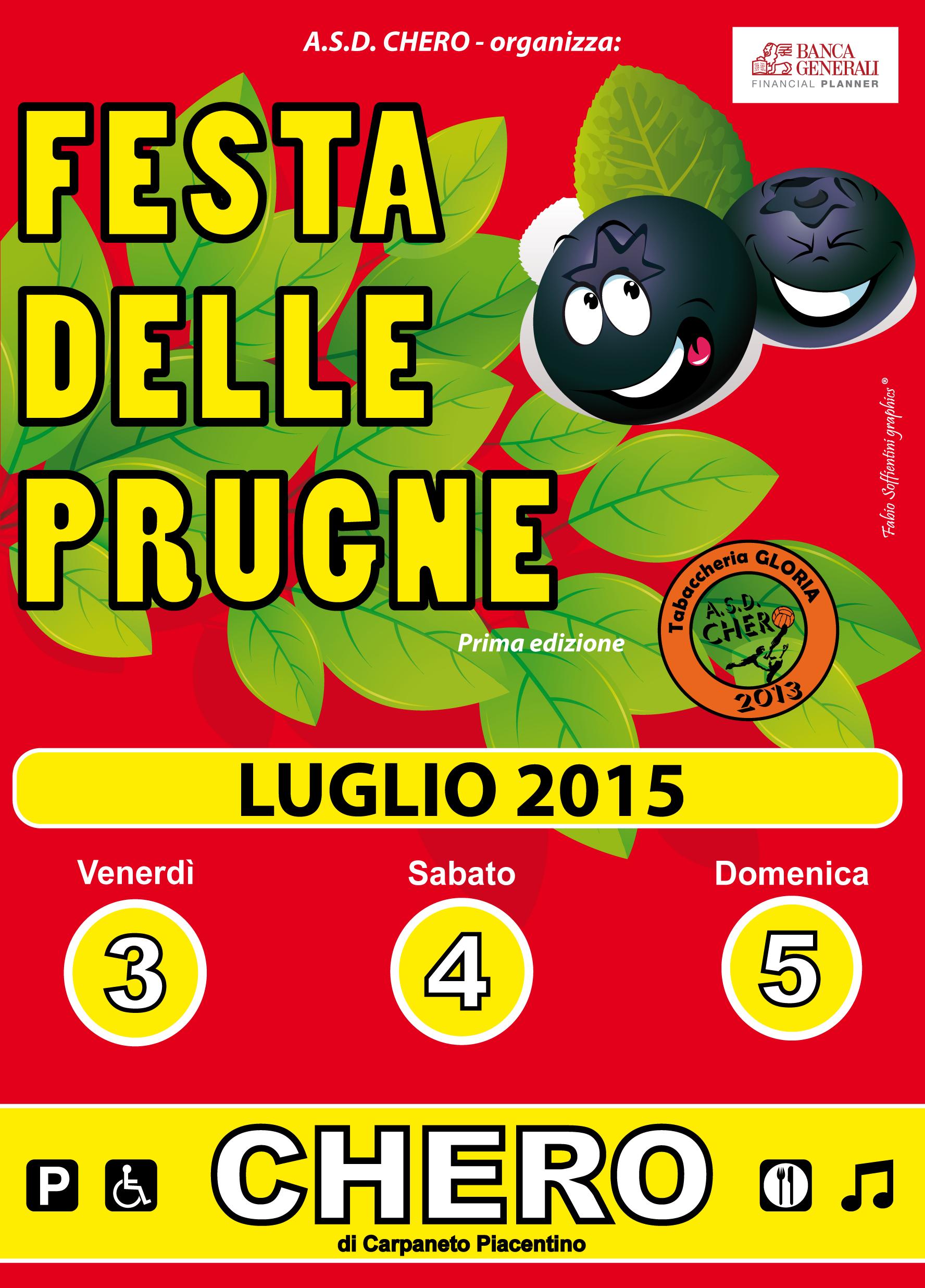 1° FAST PULLING CHERO - FESTA DELLE PRUGNE - Sabato 4 Luglio 2015 // Notturna