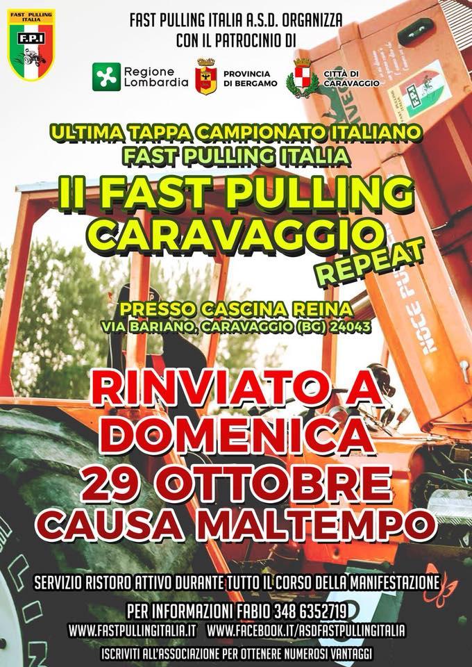 II FAST PULLING CARAVAGGIO (BG) Repeat - Finale