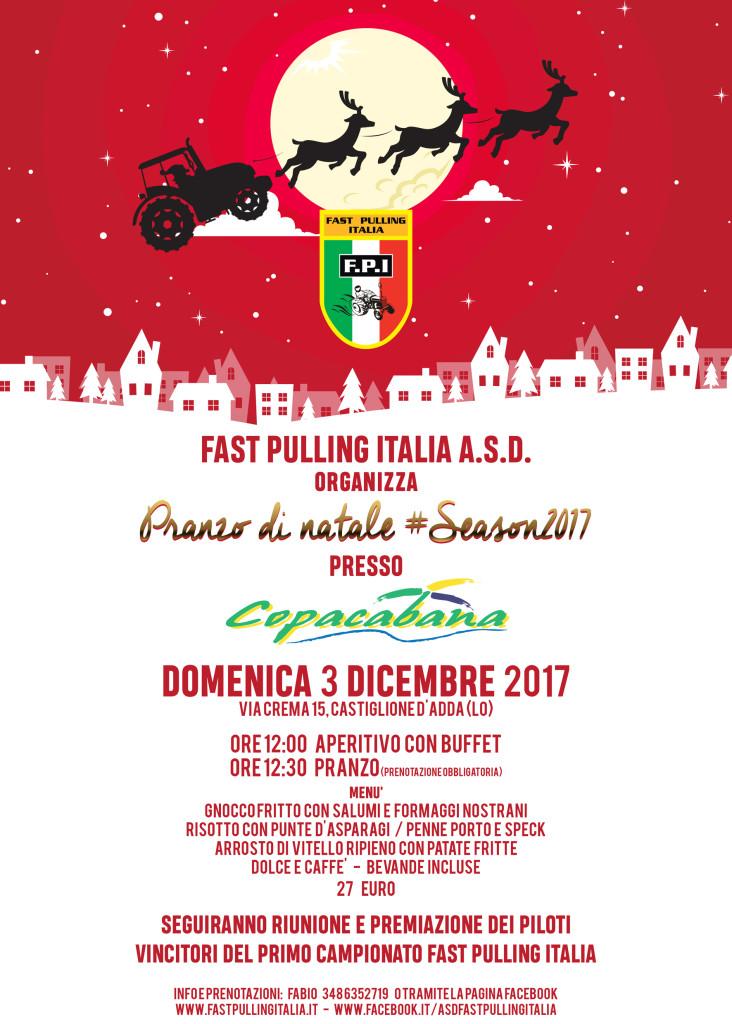 FAST PULLING ITALIA A.S.D. CENA DI NATALE 2017