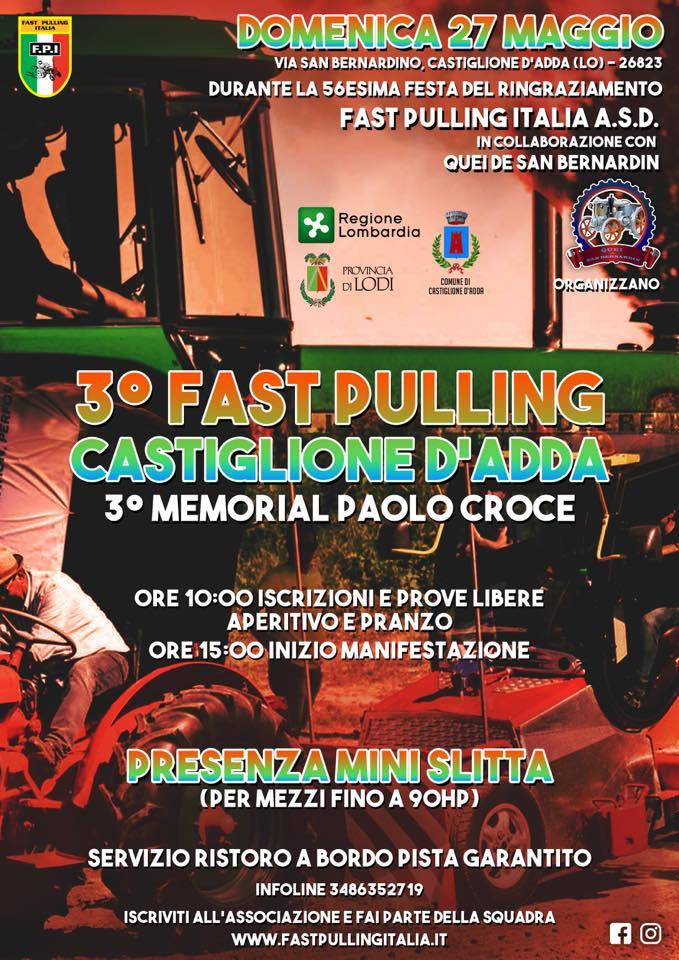 3° FAST PULLING Castiglione d'Adda (LO)