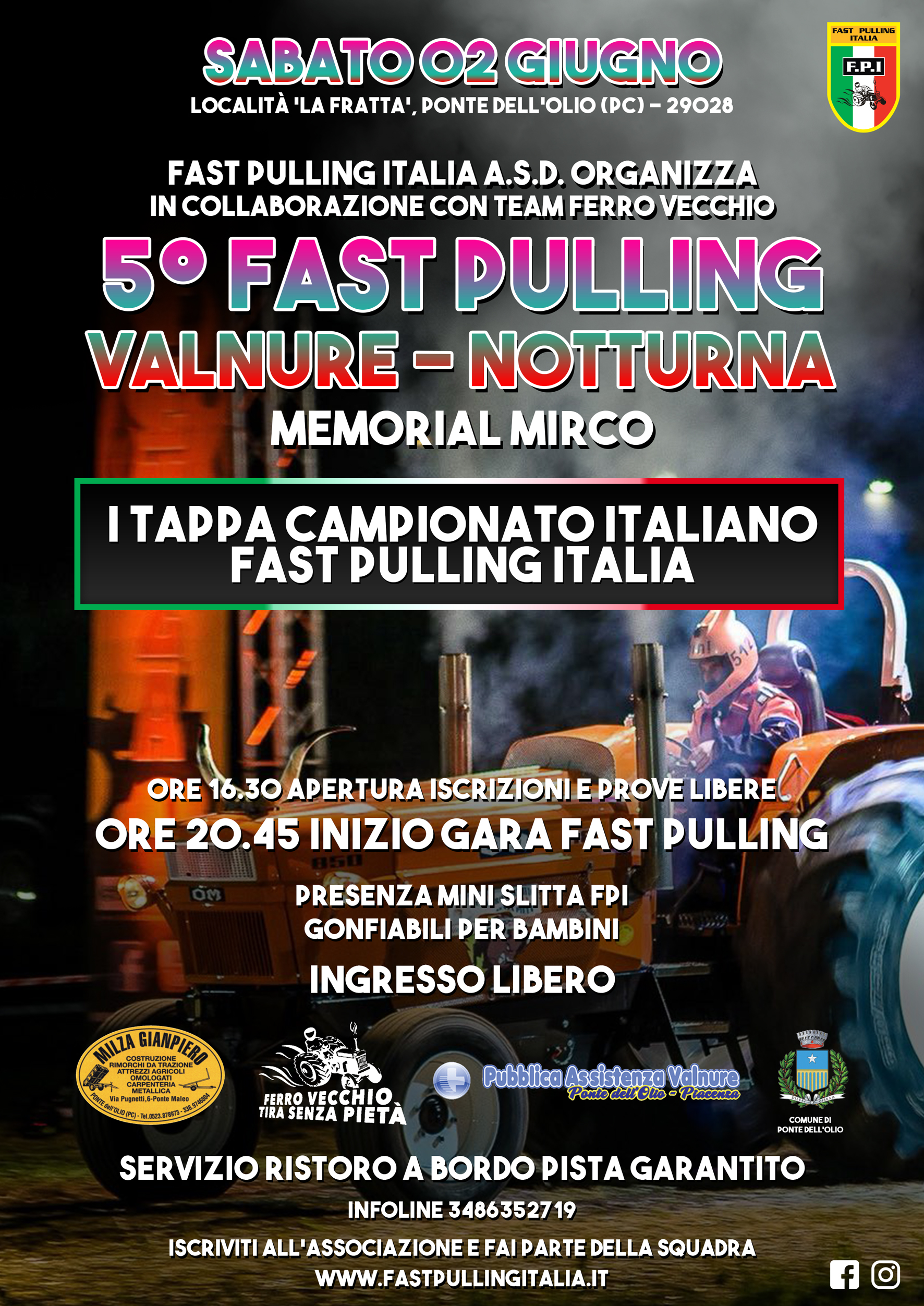 V FAST PULLING in Valnure | Ponte dell'Olio (PC)