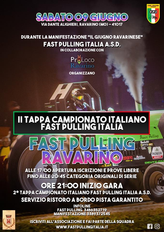 FAST PULLING RAVARINO (MO) - II TAPPA DI CAMPIONATO