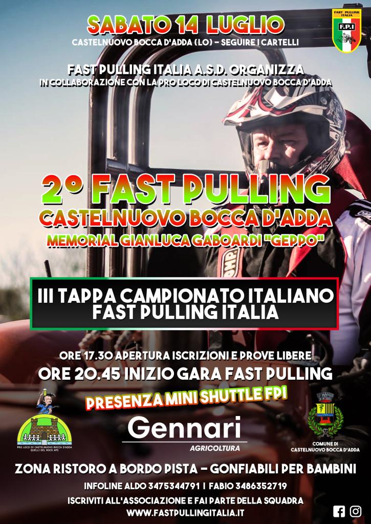 FAST PULLING CASTELNUOVO 2018