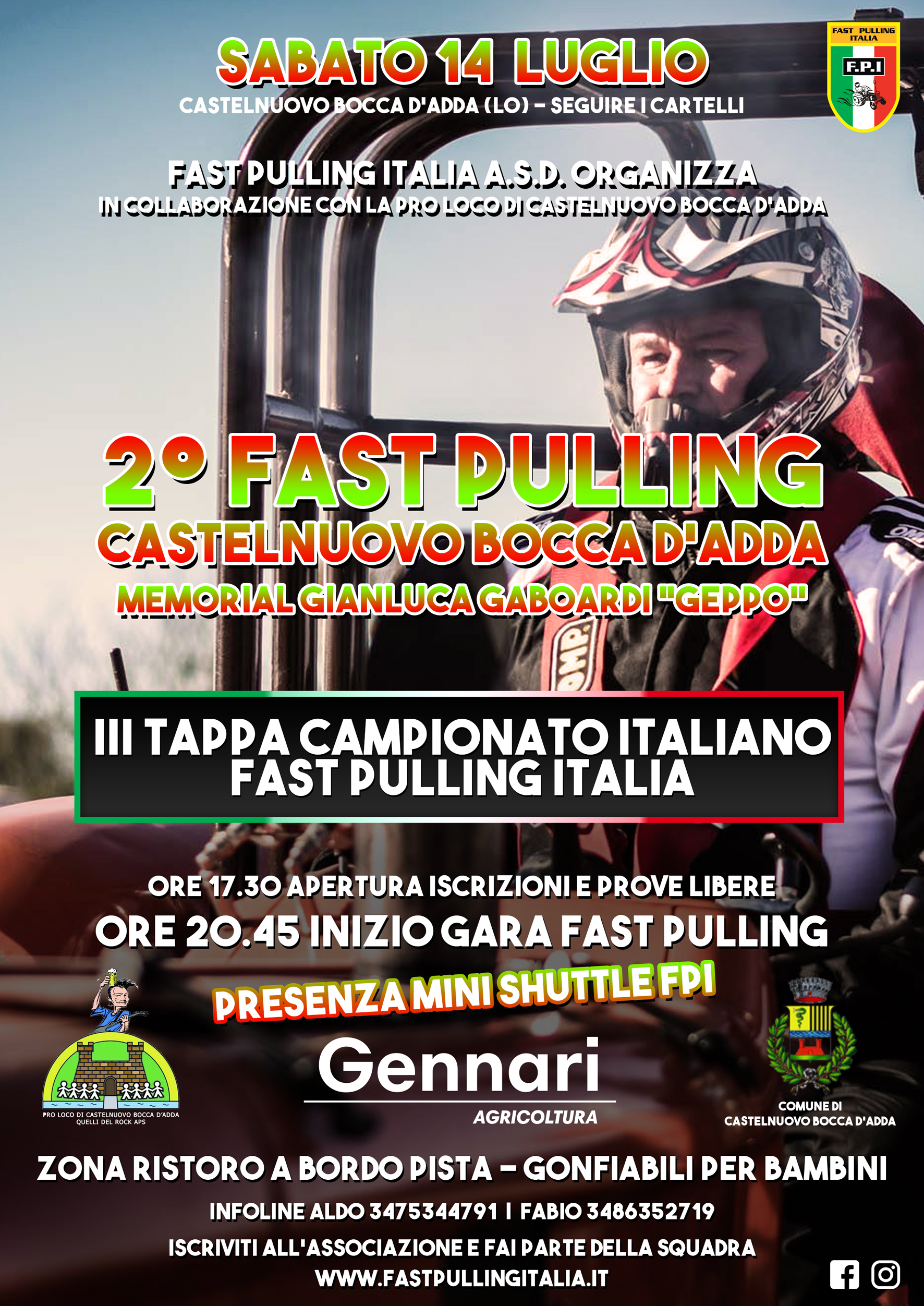 FAST PULLING CASTELNUOVO BOCCA D'ADDA (LO) - III TAPPA DI CAMPIONATO
