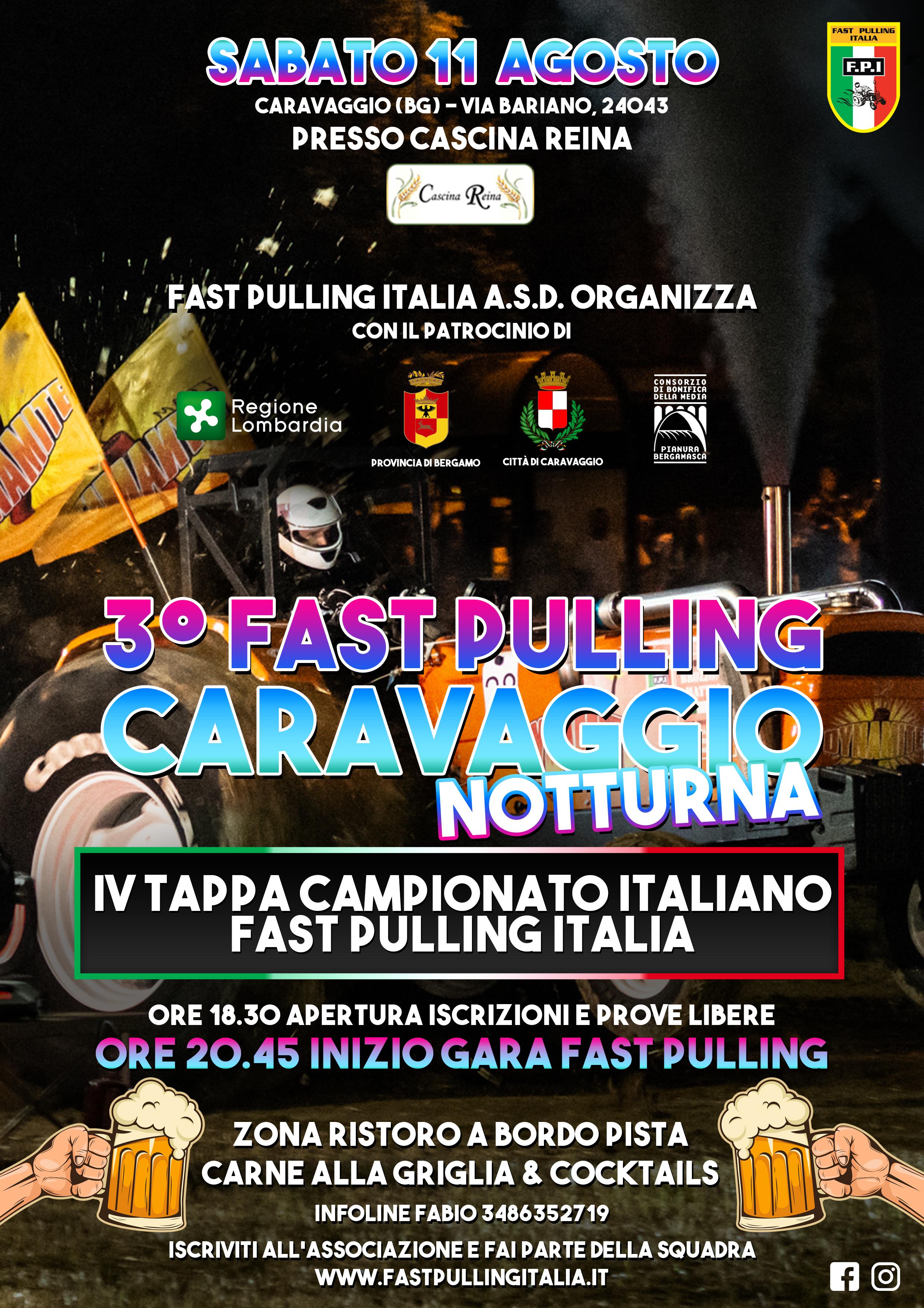 3° FAST PULLING CARAVAGGIO | 4^ TAPPA DI CAMPIONATO