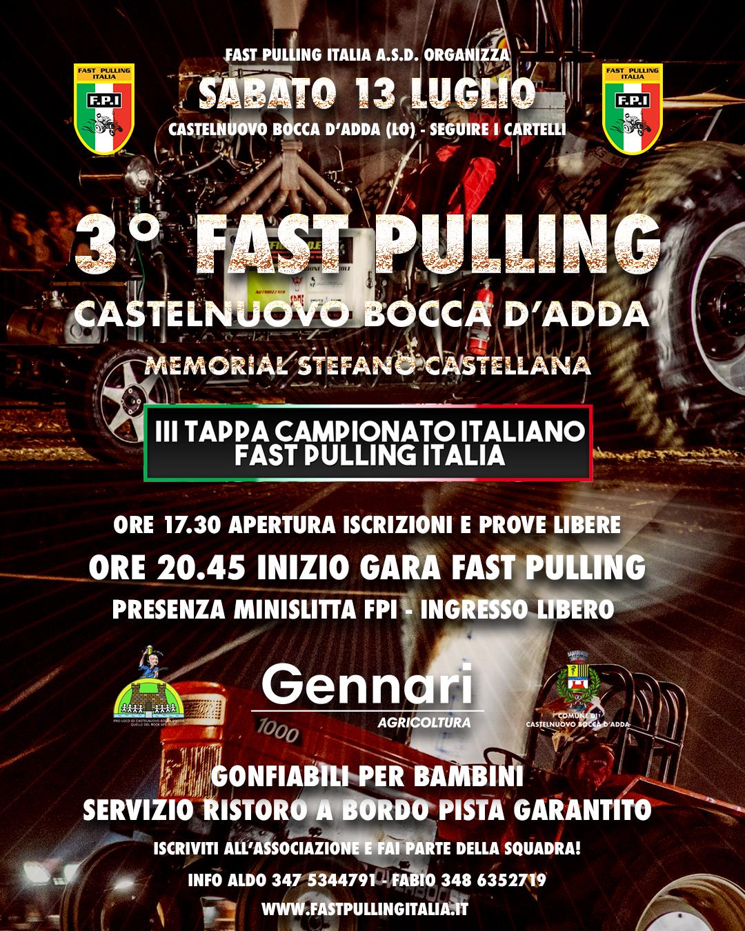 3° FAST PULLING CASTELNUOVO BOCCA D'ADDA (LO)
