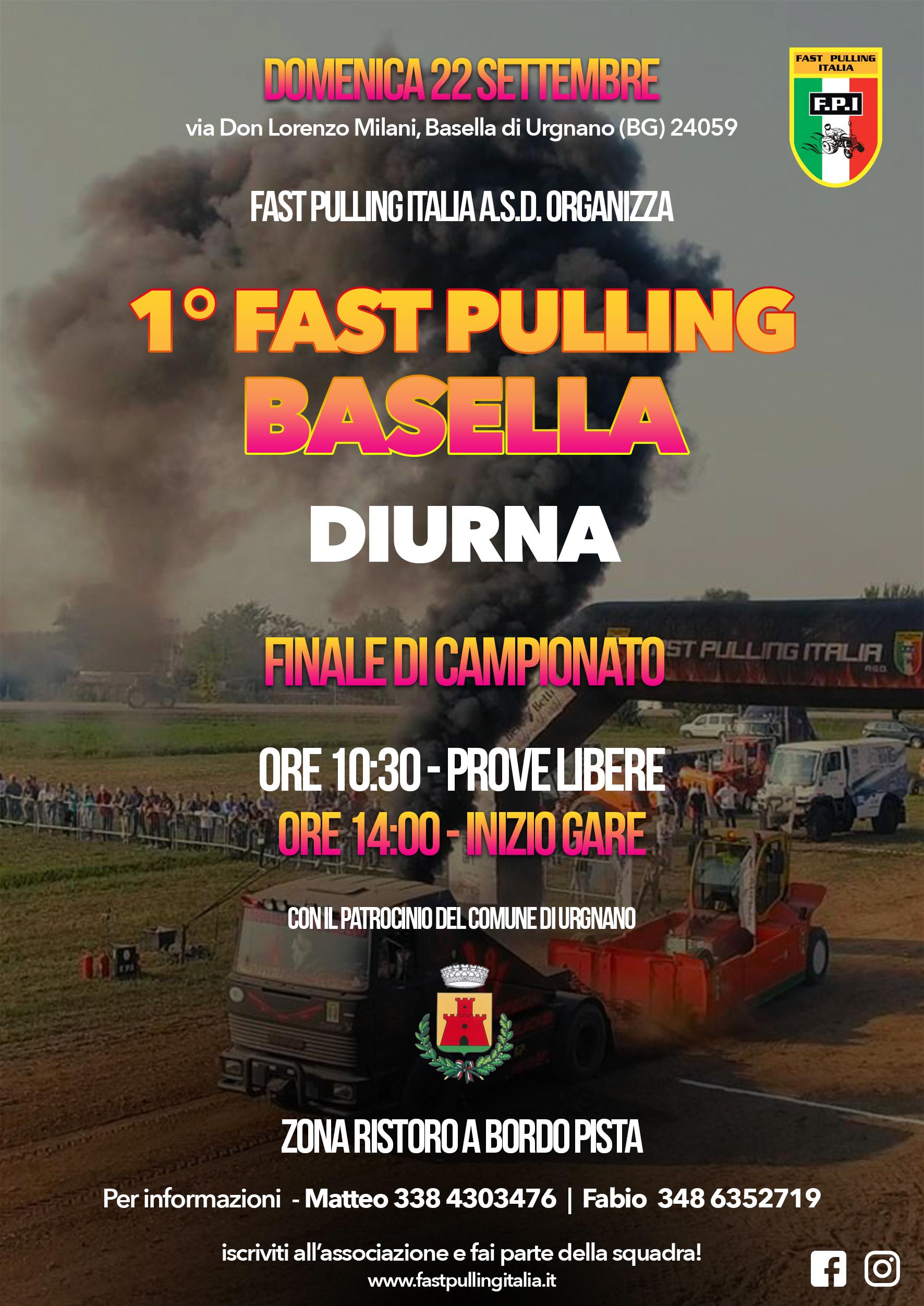 1º FAST PULLING BASELLA - finale di Campionato